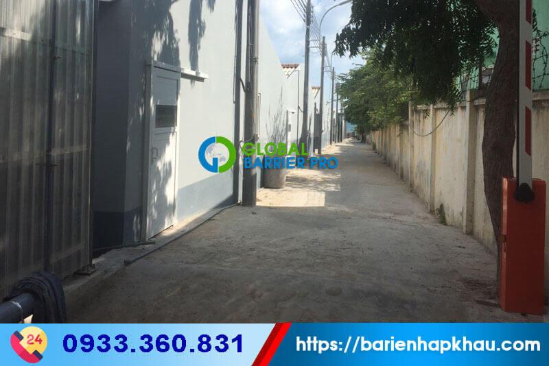 Lắp đặt Barrier tự động FAAC Italia tại Bình Thuận