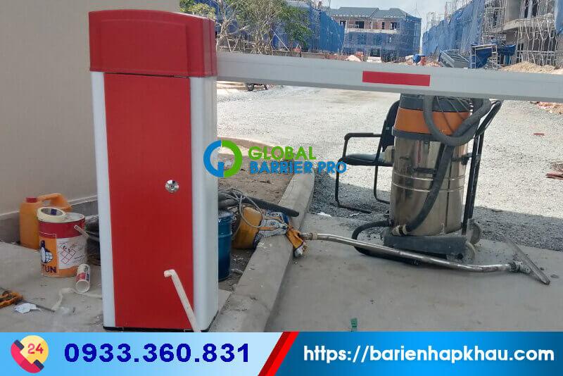 Lắp đặt thanh chắn barrier tự động BS-606 tại Kolon