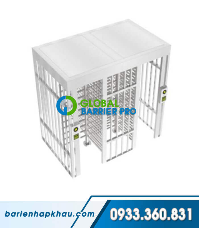 Cửa xoay cao an ninh 2 lối Full-height Turnstile Single-Channel HT-502