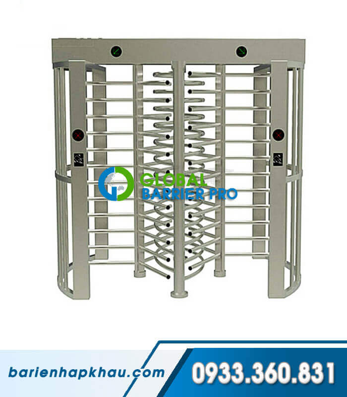 Cửa xoay cao an ninh 2 lối Full-height Turnstile Single-Channel HT-503