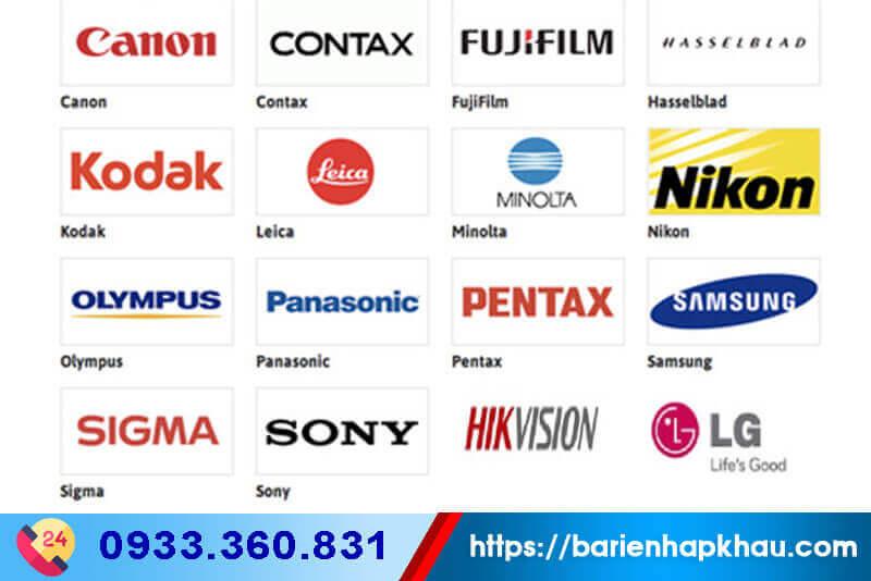 Các thương hiệu camera chất lượng cao