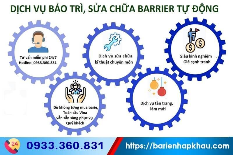 Sửa chữa barie tự động toàn quốc