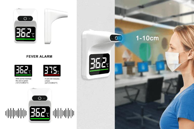 Máy đo thân nhiệt tự động