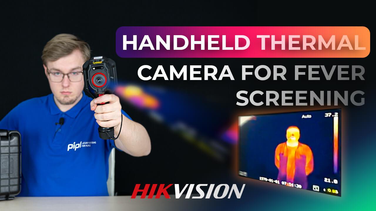 Lắp đặt camera đo thân nhiệt từ xe hkvision